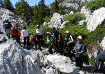 VELEBIT: po Premužičevi poti od Zavižana do Alana, 11. junij 2017 (foto Jože)