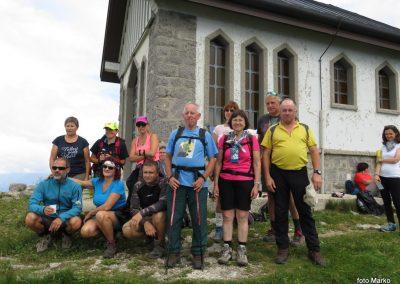 Stol (Kobariški) in Matajur, 7. in 8. julij 2018 (foto Marko)