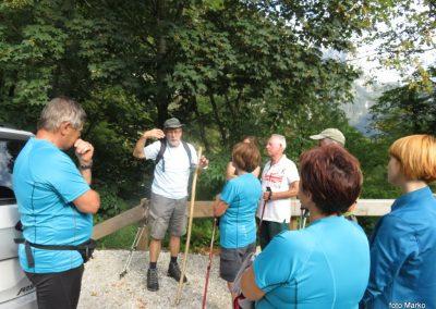 02 Trdnjava Kluže, pričakal nas je vodnik Lipovec, ki nas je popeljal na trdnjavo Fort Herman, 9.15