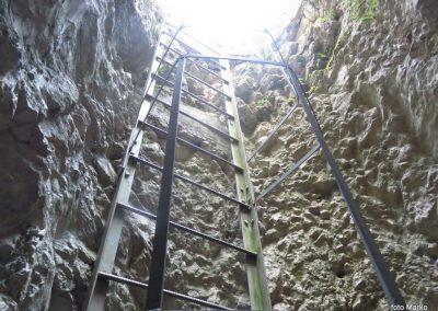 25 izhod iz podzemnih hodnikov v trdnjavi Fort Herman, 10.31
