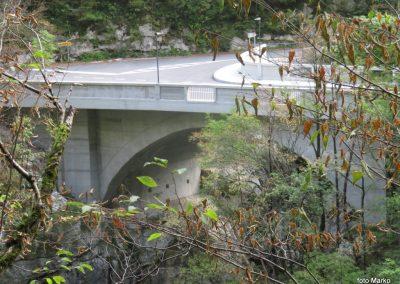 30 most čez Koritnico pri trdnjavi Kluže, 11.12