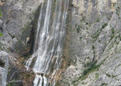 53 slap Boka je po pretočnosti največji slovenski slap