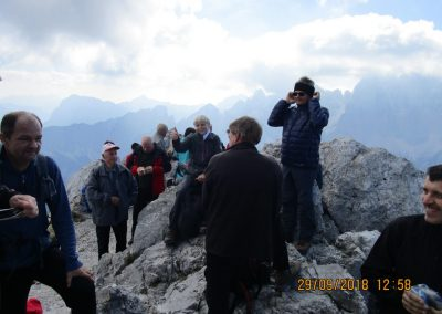 068 na vrhu Kamnitega lovca, 2071m, 12.58