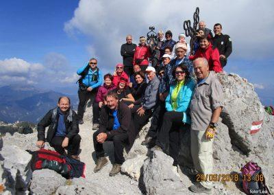 075 na vrhu Kamnitega lovca, 2071m, 13.08