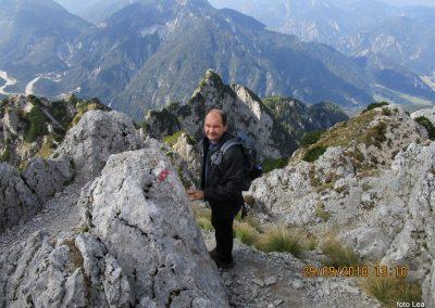 077 na vrhu Kamnitega lovca, 2071m, 13.10
