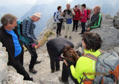 079 planinski krst na vrhu Kamnitega lovca, 2071m, 13.17