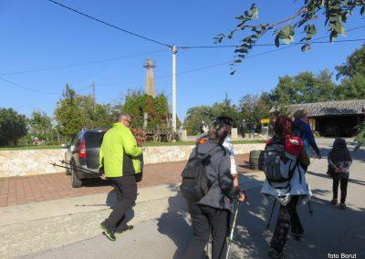 11 na poti proti stolpu Vinarium, na vrhu Lendavskih goric - Piramida, 327m, 9.59