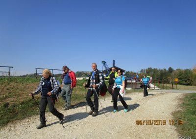 54 na poti od Dolge vasi do Velike Polane, pri zapornici na Ledavi 12.18