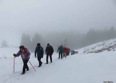 58 na poti od Doma na Menini na vrh Vivodnik, 13.02