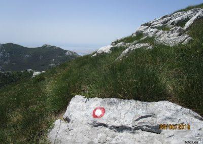 061 VELEBIT, vzpon na Konjevaćo 1381m, 11.48