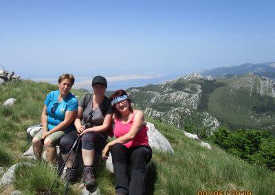 068 VELEBIT, na vrhu Konjevaće 1381m, 11.57