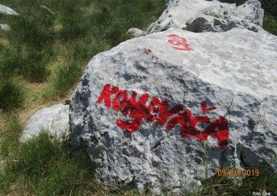 069 VELEBIT, na vrhu Konjevaće 1381m, 11.58