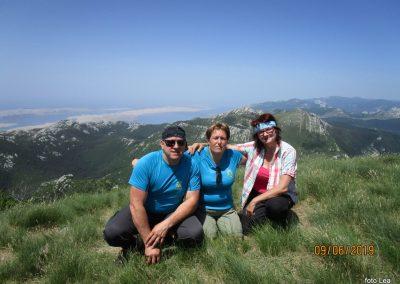 071 VELEBIT, na vrhu Konjevaće 1381m, 12.05