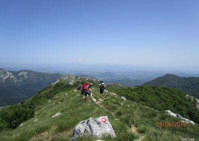082 VELEBIT, na vrhu Konjevaće 1381m, 12.22