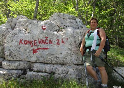 100 VELEBIT,s Konjevaće na Veliki Sadikovac 1286m, 14.20