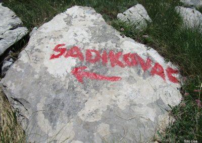 109 VELEBIT,s Konjevaće na Veliki Sadikovac 1286m, 14.34