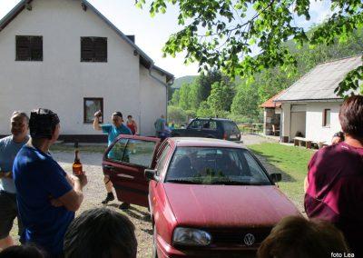 153 VELEBIT, pri planinskem domu Vila velebita v Baških Oštarijah, 17.06