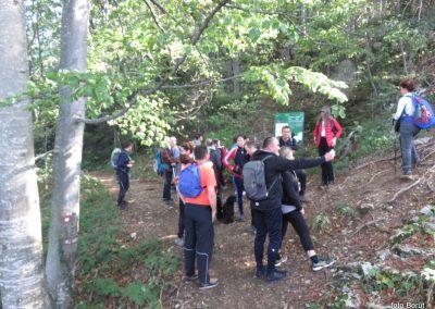 29 SLJEME, vzpon proti planinskemu domu na Hunjki - tu se končajo 'Horvatove stube', 10.45