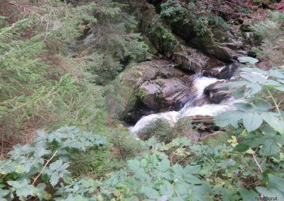 30 LOBNICA - ŠUMIK - AREH, po soteski Lobnice - nad slapom Mali Šumik, 9.48