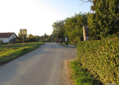 90 SLJEME, v vasi Slani potok, kjer končamo turo, 17.41